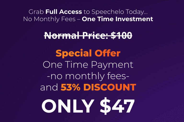 speechelo discount - Speechelo Review - Real Human Voices From Text in 60 Seconds!